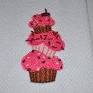 """Cupcake Stack"" Kitchen Dishtowel"