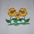 """Sunflowers"" Kitchen Dishtowel"