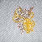 """Cross & Angel Echo"" Easter Kitchen Dishtowel"