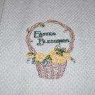 """""""Easter Blessings"""" Easter Kitchen Dishtowel"""