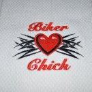 """""""Biker Chick""""  Kitchen Dishtowel"""
