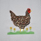 """Ocelot"" Wild Hen Kitchen Dishtowel"