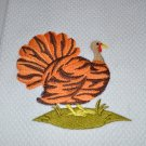 "Wild Turkey ""Tiger"" Thanksgiving Kitchen Dishtowel"