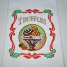"""Christmas Truffles"" Christmas Kitchen Dishtowel"