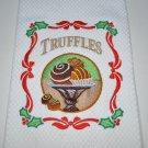 """Christmas Truffles"" Christmas Kitchen Dishtowel"