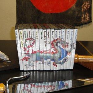 Kung Fu San Soo - Complete Set of DVDs