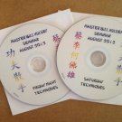 2012 Seminar DVDs ( special rate for students who attended)