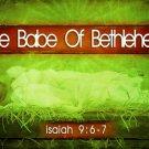 The Babe of Bethlehem Splash Page