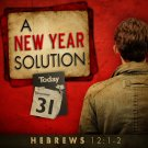 A New Year Solution Splash Page