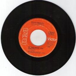 "ELVIS PRESLEY ""Until It's Time For You To Go"" RCA  VICTOR 45 RPM RECORD #0619"