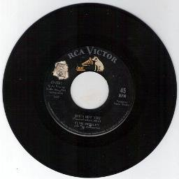 ELVIS PRESLEY - She's Not You - Just Tell Her Jim Said Hello -RCA VICTOR 45 RPM RECORD 8041