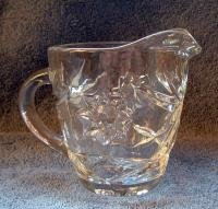 EARLY AMERICAN PRESCUT CREAMER PITCHER