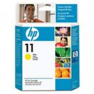 NEW IN SEALED BOX GENUINE HP C4838AN 11 YELLOW INK CARTRIDGE FREE SHIPPING
