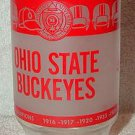 VINTAGE 1972 OHIO STATE BUCKEYES 50TH ANNIVERSARY GLASS