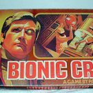 Six Million Dollar Man Bionic Crisis,Vintage Board Game,Lee Majors,Steve Austin