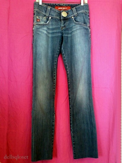 *SOLD*MISS SIXTY Jeans Low-Rise Straight Leg - Size 29