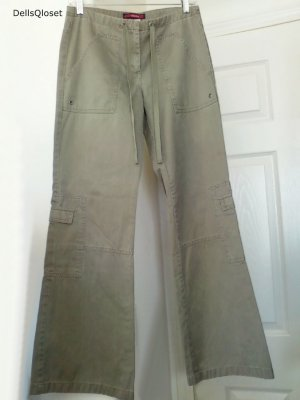 BCBG MAX AZRIA JEANS Khaki Cargo Pants - Size 6