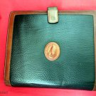 DOONEY & BOURKE Black Pebble Leather Planner Agenda Organizer - RARE