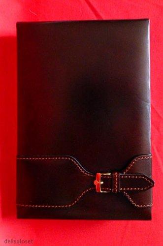 ROLEX *Vintage* Brown Leather Desktop Notepad