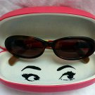 KATE SPADE 135 NOLA/S W4P Oval Brown Tortoise Shell Look Sunglasses