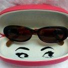 KATE SPADE 135 NOLA/S W4P Oval Brown Tortoise Shell Look Sunglasses