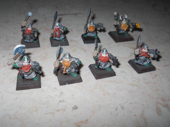 Warhammer 40K - Squats - Set Of 8 - Painted