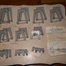 Lionel - #110 - Trestle Set - Grey - 20 Pieces With Original Instructions