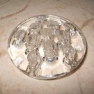 "Clear Glass Pencil Holder - Small - 3"" Diameter"