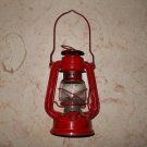 Winged Wheel - Metal Oil Lantern - #350 - Red - Japan