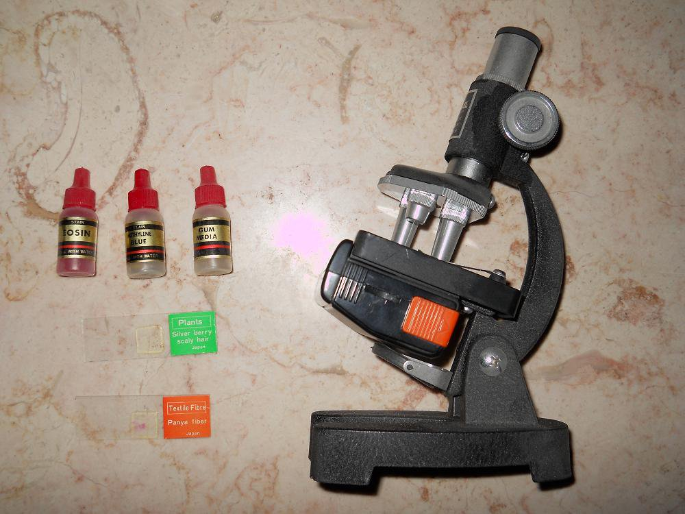 Visual Research - Microscope - Illuminator TA-2 - Vintage