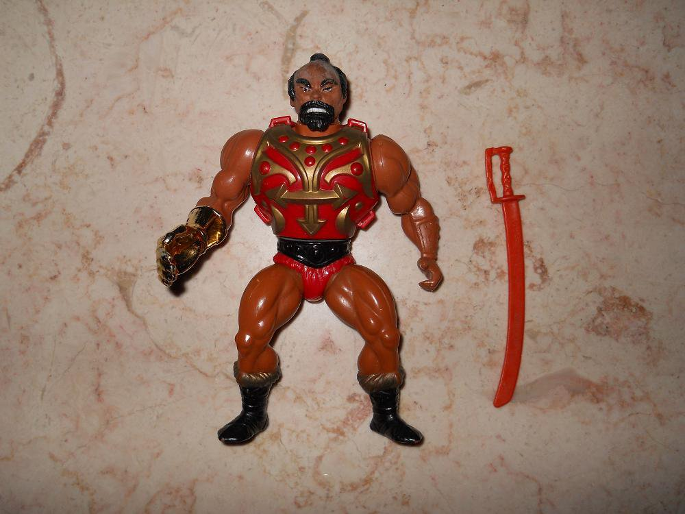 Jitsu - Mattel - 1984 - Masters Of The Universe - Complete