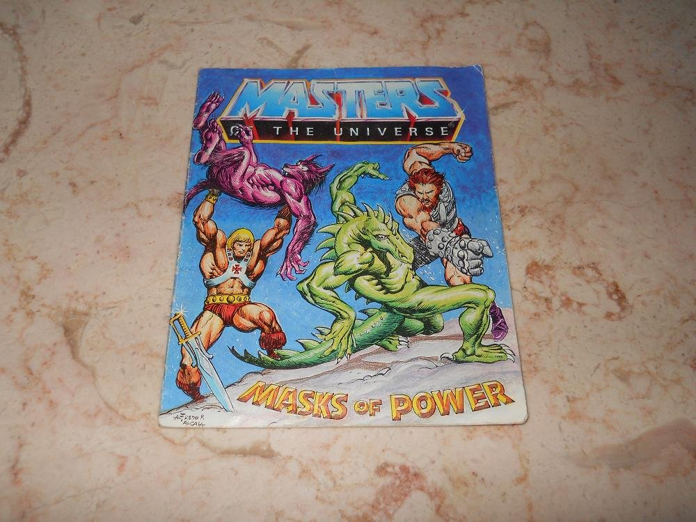 Masks Of Power - Mini Comic - Masters Of The Universe - 1983