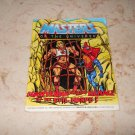 Mantenna And The Menace Of The Evil Horde- Mini Comic - Masters Of The Universe - 1984