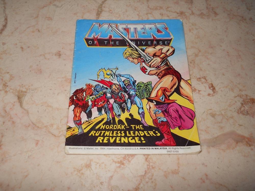 Hordak - The Ruthless Leaders Revenge - Mini Comic - Masters Of The Universe - 1984