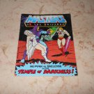 He-Man Vs Skeletor In The Temple Of Darkness - Mini Comic - Masters Of The Universe - 1983