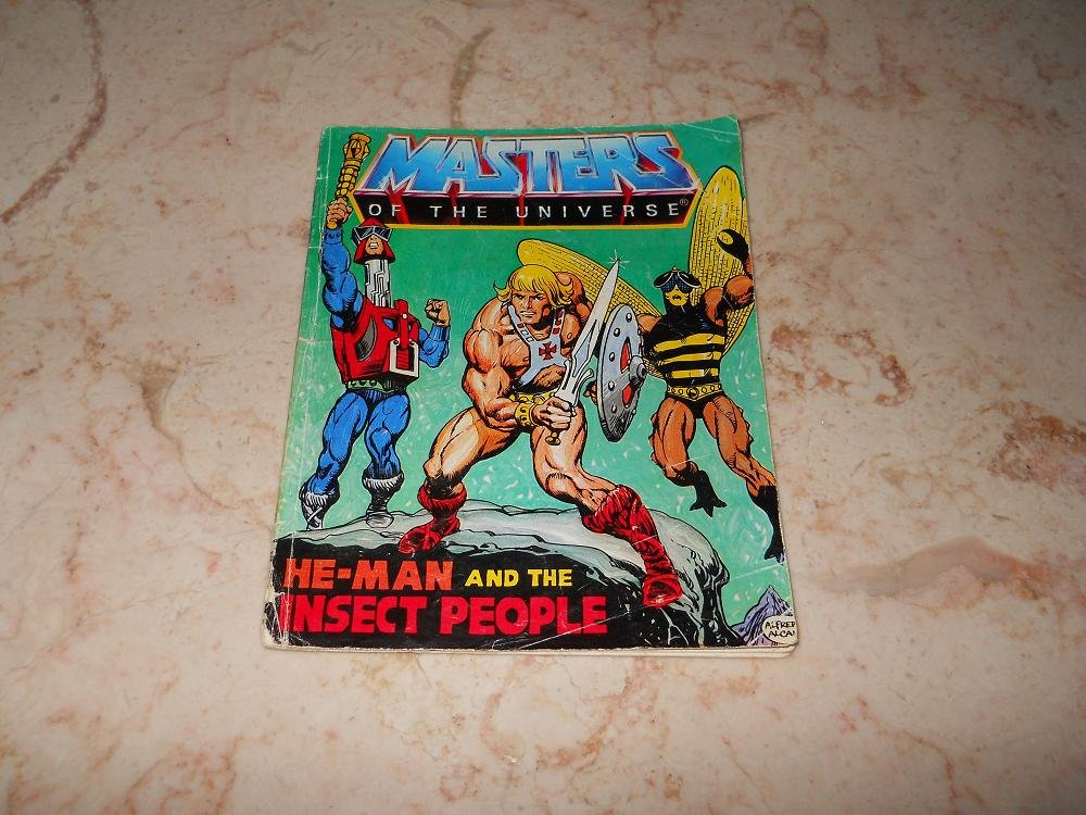 He-Man And The Insect People - Mini Comic - Masters Of The Universe - 1983