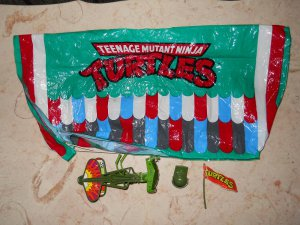 Turtle Trooper - Playmates - 1988 - Teenage Mutant Ninja Turtles - Complete