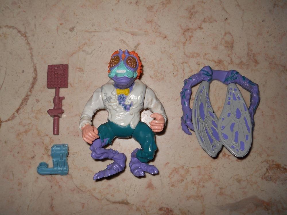 Baxter Stockman - Playmates - 1989 - Teenage Mutant Ninja Turtles - Complete