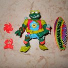 Mike The Sewer Surfer - Playmates - 1990 - Teenage Mutant Ninja Turtles - Complete