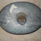 DRGM - Metal Hot Water Bottle - Brass Screw On Cap - Vintage