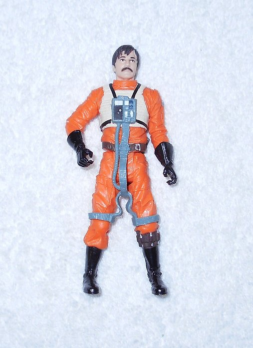 Rebel Pilot Biggs Darklighter - Star Wars - Hasbro - 2004 - Figure Only