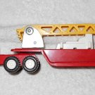 Buddy L - Articulated Ladder Truck - Red - Metal - Vintage