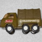 Buddy L - Military Transport Truck - Green - Metal - Vintage