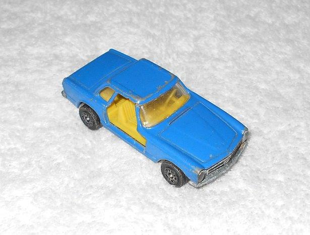 Corgi Juniors - Mercedes-Benz 280 SL - Whizzwheels - Blue - Metal - Vintage