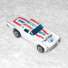 '57 T-Bird - Hot Wheels - White - Metal - 1977