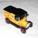 Matchbox - 1912 Ford Model T - Colman's Mustard - #Y12 - Yellow - Metal - 1978