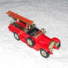 Matchbox - Rolls-Royce Ladder Truck - Borough Green - #Y6 & #Y7 - Red - Metal - Vintage
