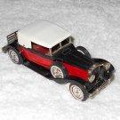 Matchbox - 1930 Packard Victoria - #Y-15 - Black, Red & White - Metal - 1969