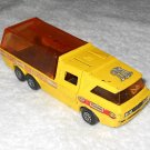 Racing Car Transporter - #K-7 - Matchbox - Super Kings - Yellow - Metal - 1972