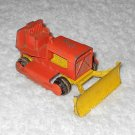 Case Tractor - #K17 - Matchbox - King Size - Orange - Metal - Vintage